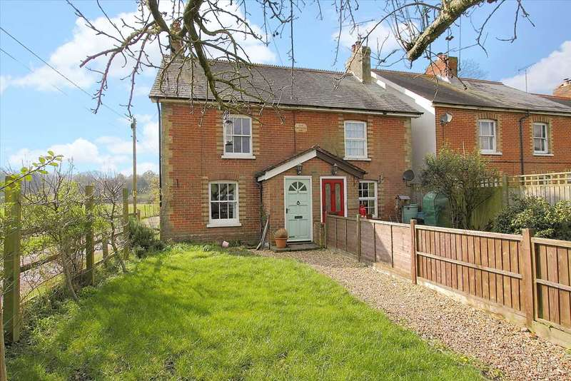 3 Bedrooms Semi Detached House for sale in Ivy Cottage, St Mary Bourne