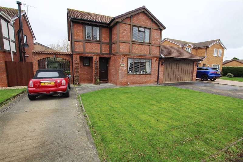 4 Bedrooms Detached House for sale in Clwyd Park, Kinmel Bay Rhyl, Conwy