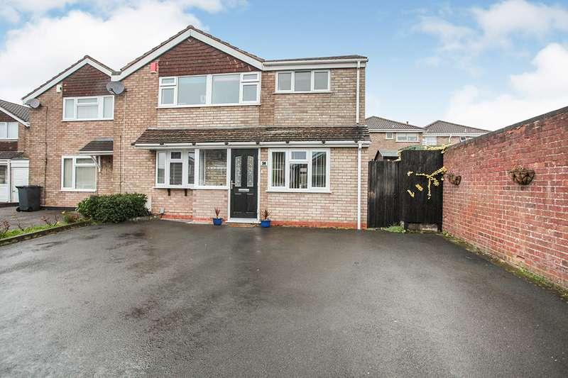 4 Bedrooms Semi Detached House for sale in Norfolk Crescent, Nuneaton, CV10