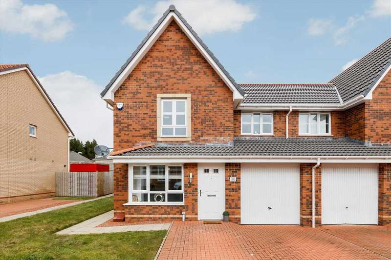 3 Bedrooms Semi Detached House for sale in Sagewood Court, Ballerup Village, EAST KILBRIDE
