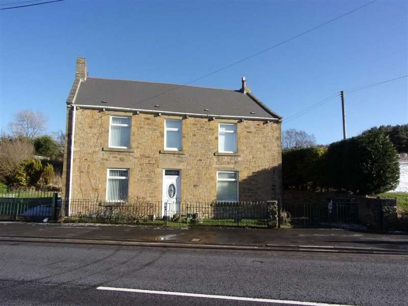 3 Bedrooms Detached House for sale in Front Street, Dipton, Co Durham