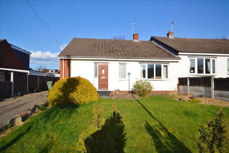 2 Bedrooms Semi Detached Bungalow for sale in Cunningham Avenue, Chorley