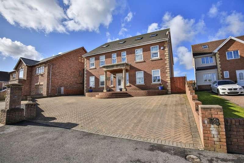 6 Bedrooms Detached House for sale in Aber Llwchwr, Llangennech, Llanelli