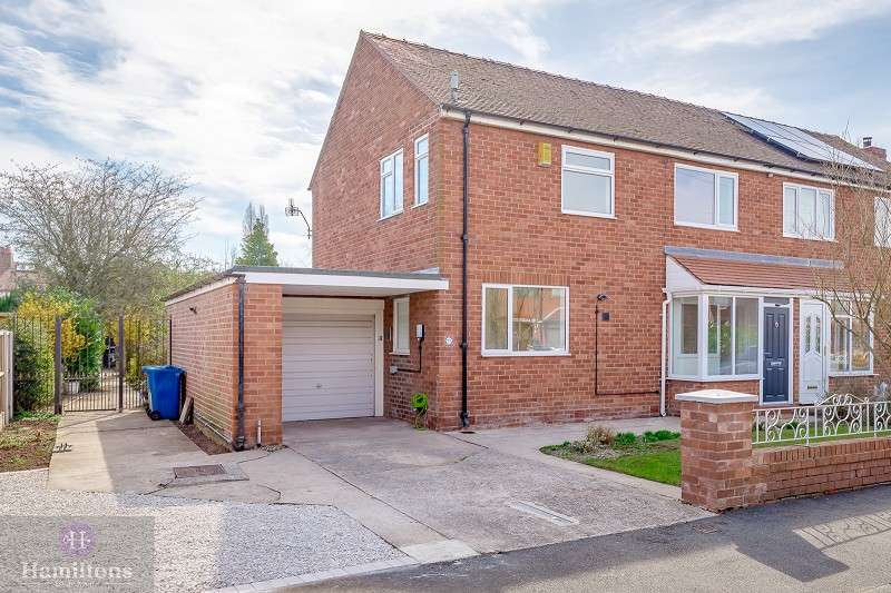 3 Bedrooms Semi Detached House for sale in Hayman Avenue, Leigh, Greater Manchester. WN7 3UF