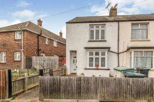 2 Bedrooms End Of Terrace House for sale in Nelson Road, Northfleet, Gravesend, Kent