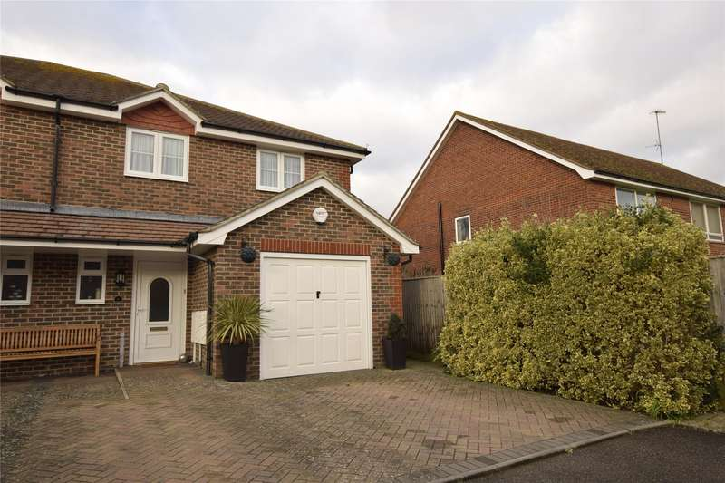 3 Bedrooms Semi Detached House for sale in Tamarisk Gardens, BEXHILL-ON-SEA, East Sussex, TN40