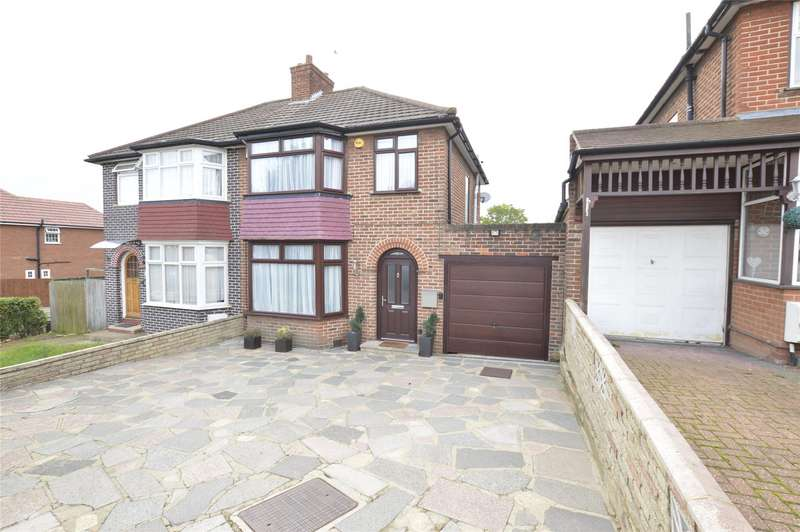 3 Bedrooms Semi Detached House for sale in Crummock Gardens, KINGSBURY, NW9
