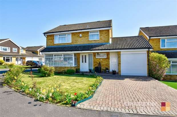 4 Bedrooms Detached House for sale in Tennand Close, Cheshunt, West Cheshunt, Hertfordshire