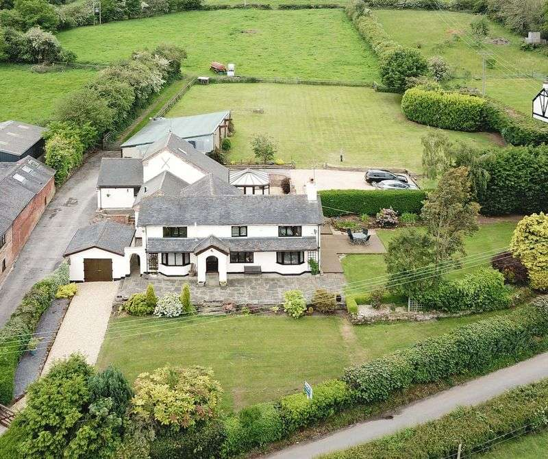 5 Bedrooms Property for sale in Sunny Bank Farm. Wesleyan Road, Ashley, Market Drayton