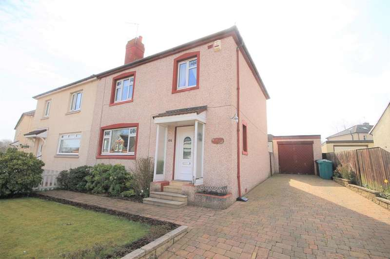 3 Bedrooms Semi Detached House for sale in Wilson Street, Motherwell