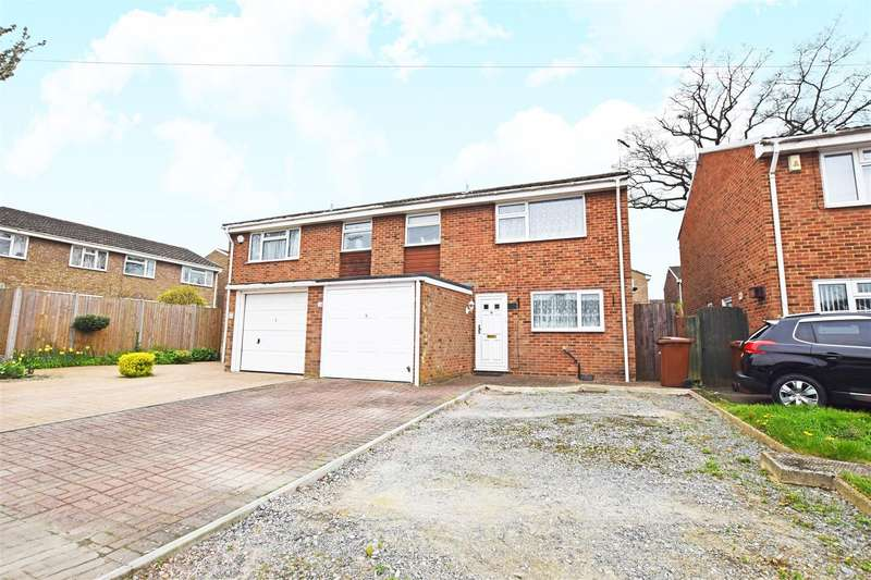 3 Bedrooms Semi Detached House for sale in Tyler Drive, Gillingham