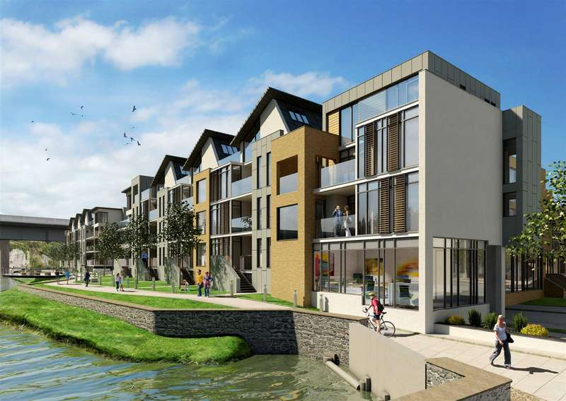 2 Bedrooms Apartment Flat for sale in Severn Quay, Chepstow, Chepstow