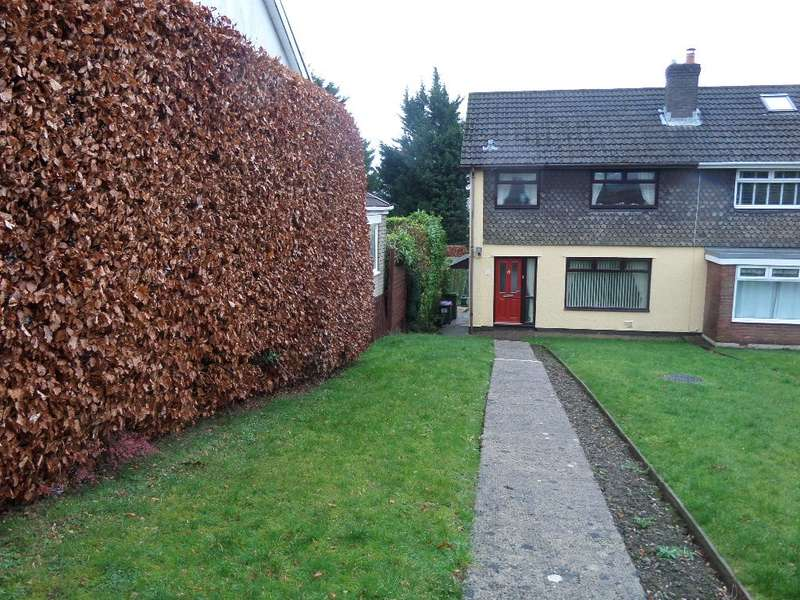 3 Bedrooms Semi Detached House for sale in Orchard Farm Estate, Trevethin, Pontypool, NP4