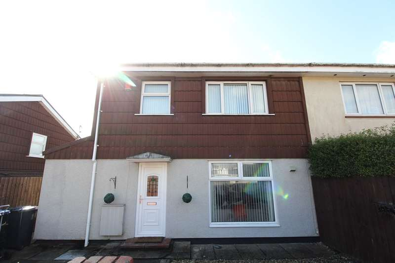 3 Bedrooms Semi Detached House for sale in Waun Fawr, Rassau, Ebbw Vale, NP23