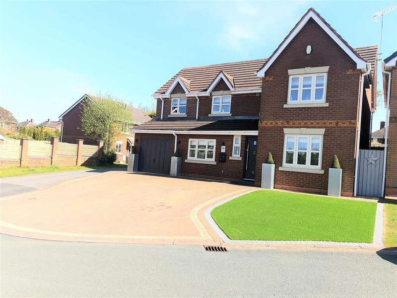 4 Bedrooms Detached House for sale in Watermint Close, Cannock