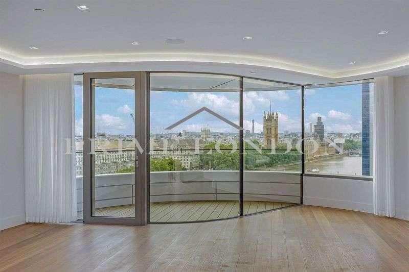 3 Bedrooms Property for sale in The Corniche, 23 Albert Embankment, London