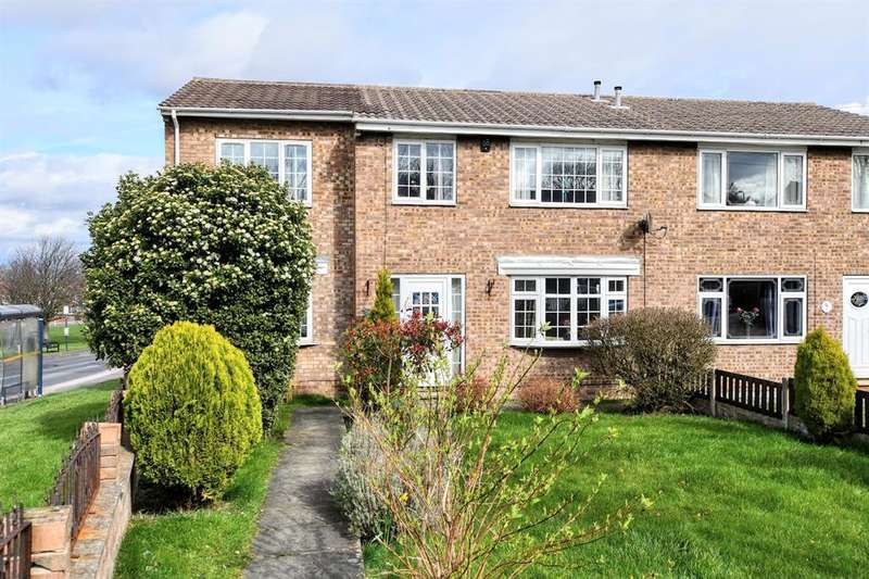 4 Bedrooms Semi Detached House for sale in Aldbury Close, Barnsley, S71 2BW