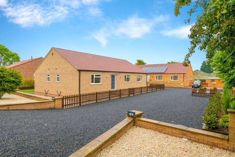 3 Bedrooms Detached Bungalow for sale in Spalding Common, Spalding, Lincolnshire, PE11
