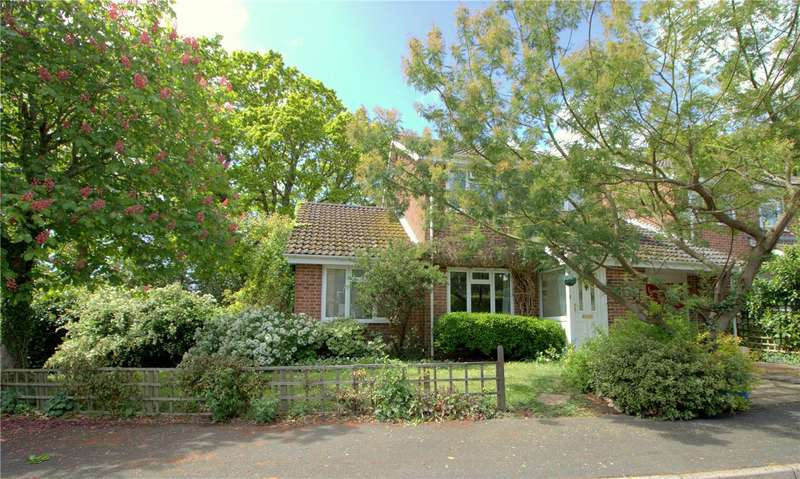4 Bedrooms Link Detached House for sale in Stanford Rise, Sway, Lymington, Hampshire, SO41