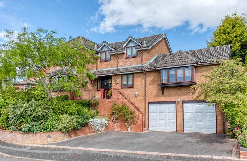 5 Bedrooms Detached House for sale in Weatheroak Close, Webheath, Redditch, B97 5TF
