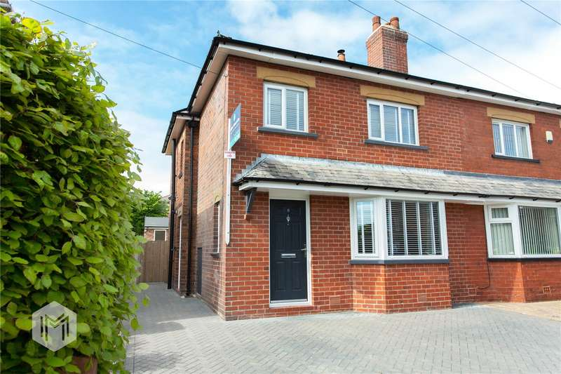 3 Bedrooms Semi Detached House for sale in Saville Road, Radcliffe, Manchester, M26