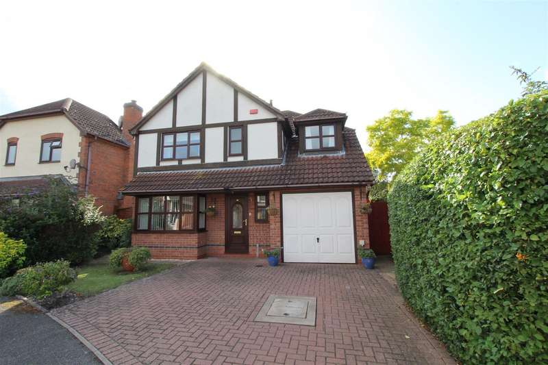 4 Bedrooms Detached House for sale in Herdwycke Close, Southam
