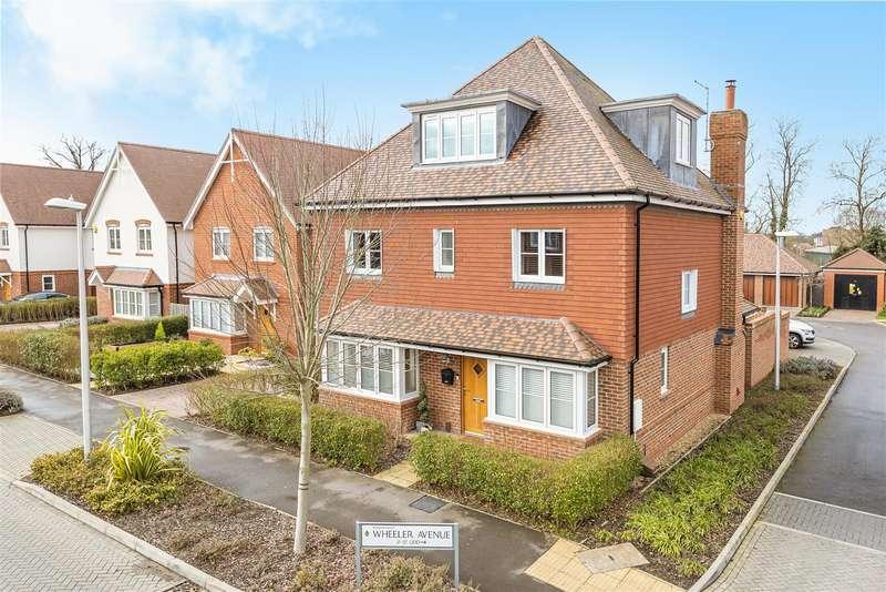 5 Bedrooms Detached House for sale in Wheeler Avenue, Wokingham, Berkshire, RG40 5AH