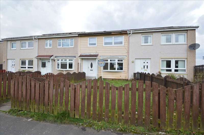 3 Bedrooms Terraced House for sale in Mossgiel Way, Newarthill, Motherwell
