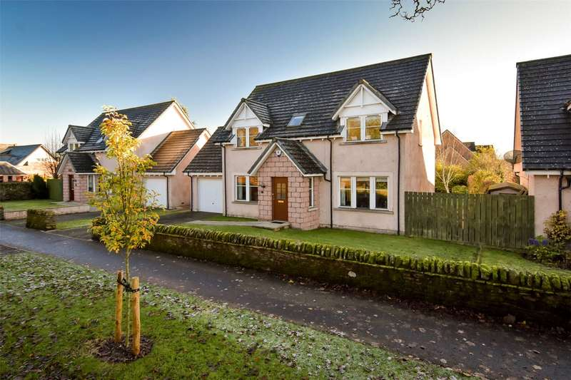 4 Bedrooms Detached House for sale in 17 Lethnot Road, Edzell, Brechin, Angus, DD9