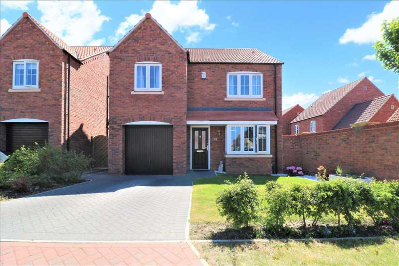 4 Bedrooms Detached House for sale in Loweswater Close, Waddington, Waddington, Lincoln