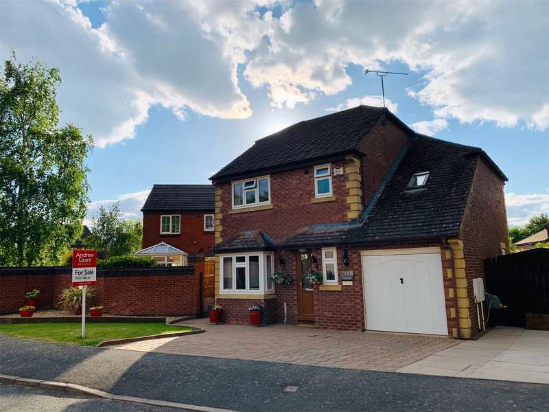 3 Bedrooms Detached House for sale in Abbeyfields Drive, Studley, B80