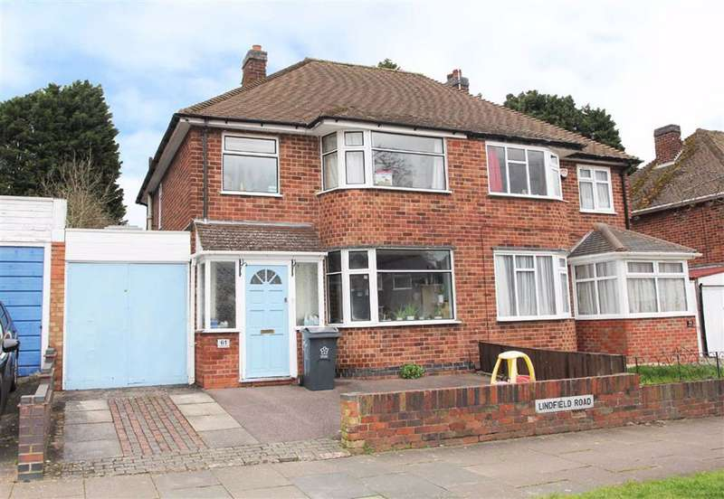 3 Bedrooms Semi Detached House for sale in Lindfield Road, Western Park, Leicester