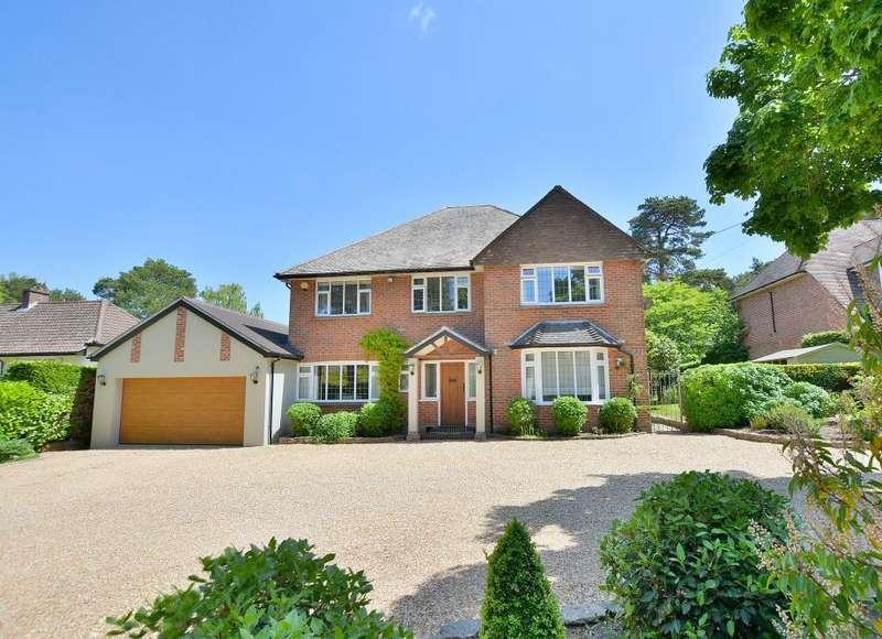 4 Bedrooms Detached House for sale in Golf Links Road, Ferndown, Dorset, BH22 8BU