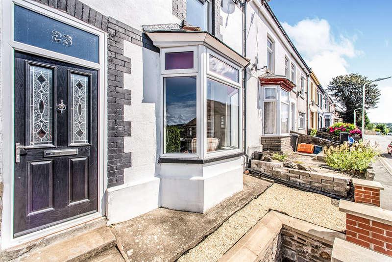 3 Bedrooms Terraced House for sale in Brynteg, Treharris