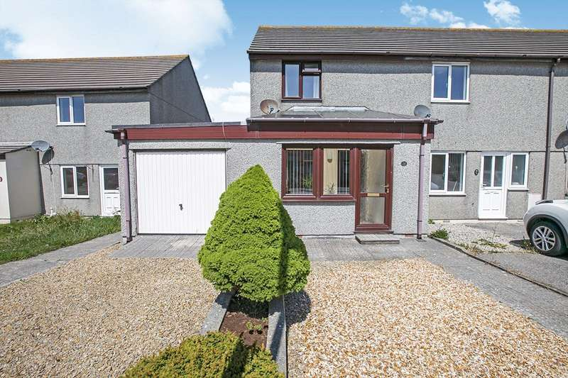 2 Bedrooms Semi Detached House for sale in Wheal Gerry, Camborne, Cornwall, TR14