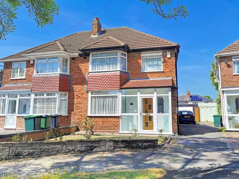 3 Bedrooms Semi Detached House for sale in TEMPLE MEADOWS ROAD, WEST BROMWICH, B71 4DG