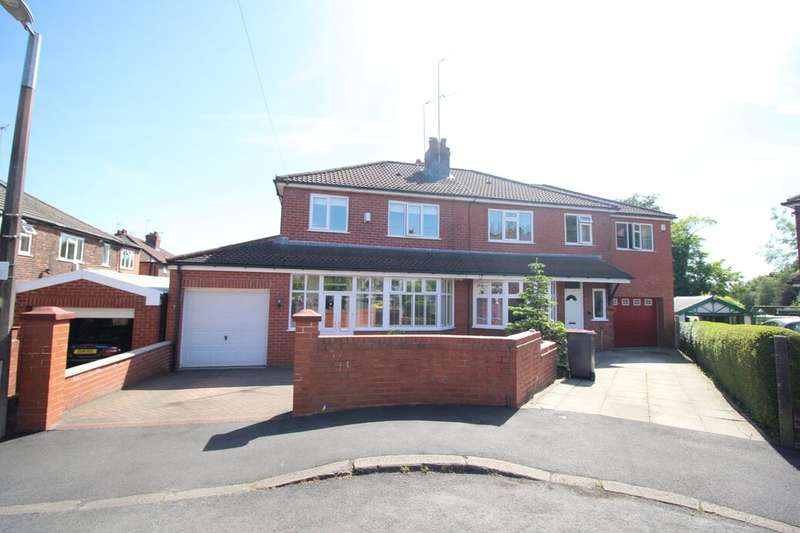 3 Bedrooms Semi Detached House for sale in Knowsley Drive, Swinton, M27