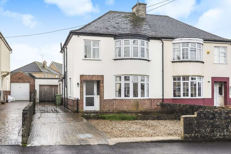 3 Bedrooms Semi Detached House for sale in Overhill Road, Cirencester