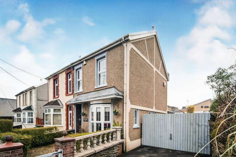 4 Bedrooms Semi Detached House for sale in Shingrig Road, Nelson, Treharris