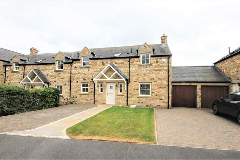 4 Bedrooms Semi Detached House for sale in The Paddock, Witton Le Wear, Bishop Auckland