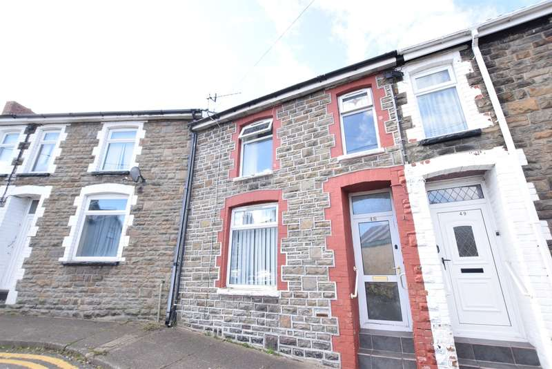 2 Bedrooms Terraced House for sale in Francis Street, Bargoed