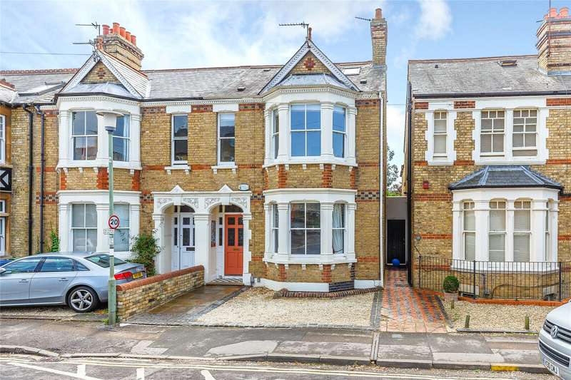 5 Bedrooms Semi Detached House for sale in Oakthorpe Road, Oxford, OX2