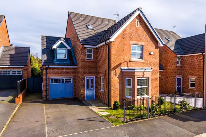 5 Bedrooms Detached House for sale in St Thomas Close, Windle, St Helens, WA10