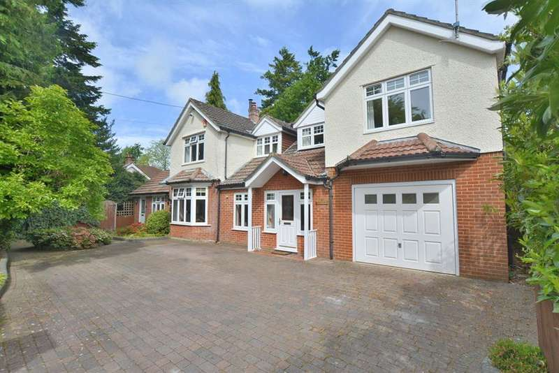 5 Bedrooms Detached House for sale in Denewood Road, West Moors