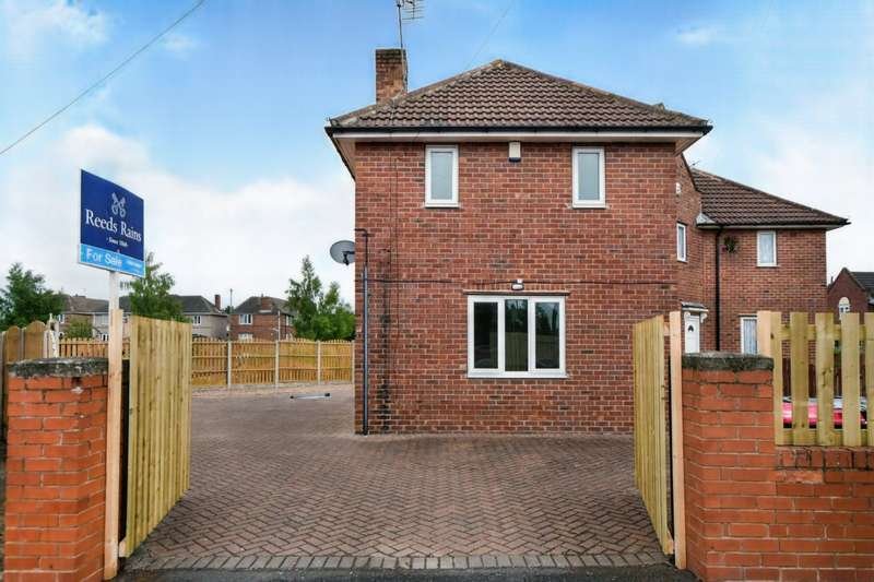 3 Bedrooms Semi Detached House for sale in Lordens Hill, Dinnington, Sheffield, South Yorkshire, S25