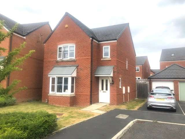 3 Bedrooms Detached House for sale in Garston Crescent, Newton-le-Willows, Merseyside, WA12
