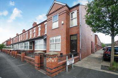 3 Bedrooms End Of Terrace House for sale in Claremont Road, Manchester, Greater Manchester