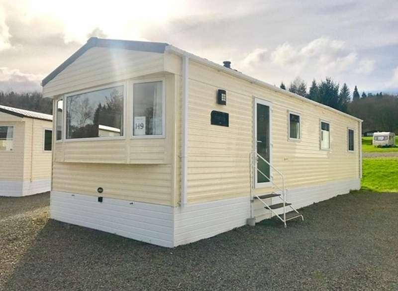 2 Bedrooms Caravan Mobile Home for sale in Moffat Manor, Moffat