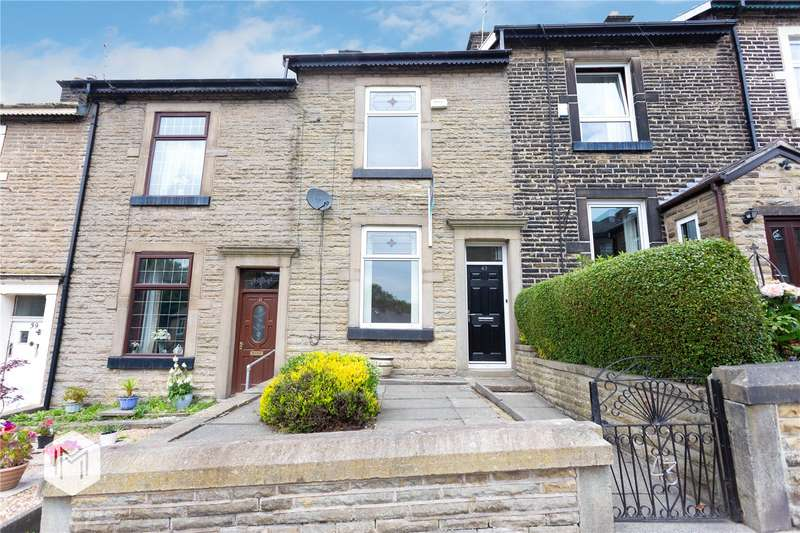 2 Bedrooms Terraced House for sale in Peel Brow, Ramsbottom, Bury, Greater Manchester, BL0