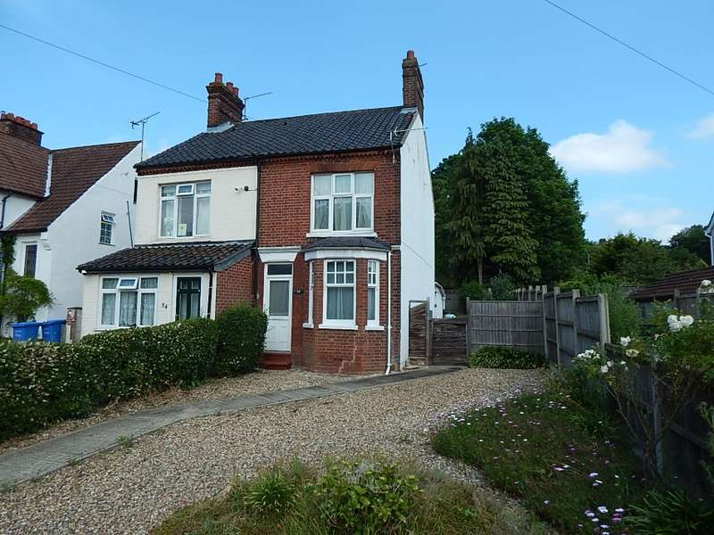 2 Bedrooms Semi Detached House for sale in 32 Catton Grove Road, Norwich, Norfolk